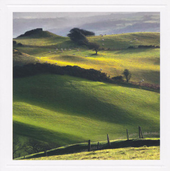 Offa's Dyke Greeting Card