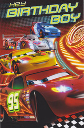 Cars - Birthday Boy Card