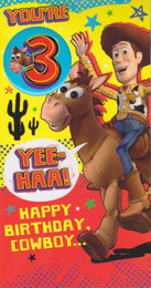 Toy Story - 3rd Birthday Card