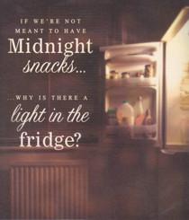 Midnight Snacks Greeting Card