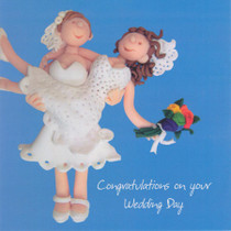 Congratulations On Your Wedding Day - Females
