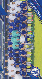 Chelsea F.C. - Team Photograph Greeting Card - Landscape
