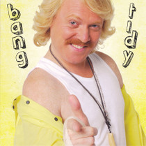 Keith Lemon Bang Tidy Square Birthday Card