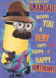 Despicable Me - Grandad's Birthday Card