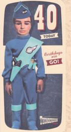 Thunderbirds - 40th Birthday Card