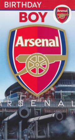 Arsenal Football Club - Birthday Boy Card