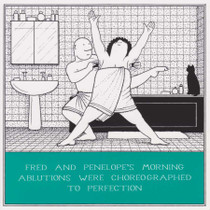 Choreographed To Perfection Greeting Card