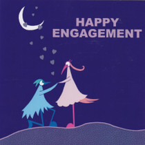 Happy Engagement Greeting Card