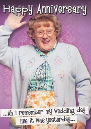 Mrs Brown's Boys - Happy Anniversary Card