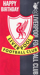 Liverpool Football Club Crest Birthday Card