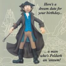 Poldark Humorous Birthday Card