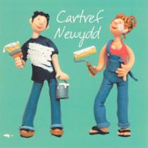 Cartref Newydd - Welsh New Home Card