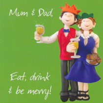 Mum And Dad's Christmas Card