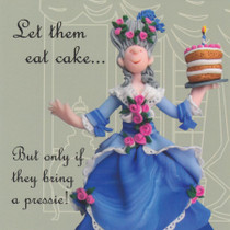Let Them Eat Cake Birthday Card