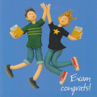 Exam Congrats Card