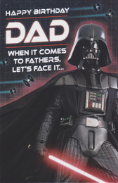 Star Wars - Dad's Birthday Card - Vader