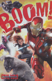 Captain America Civil War - Birthday Card
