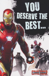 Captain America Civil War - Team Iron Man Card