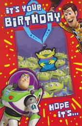 Toy Story - It's Your Birthday Card