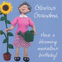 Glorious Grandma Birthday Card - Holy Mackerel