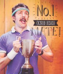 Knob Head Mate Birthday Card