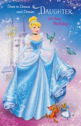 Honeycomb Concertina Disney Princess Birthday Princess Card