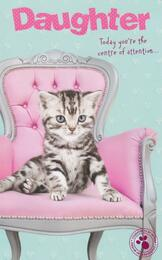 Daughter Birthday Card - Studio Pets