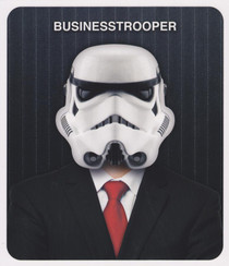 Star Wars - Businesstrooper Greeting Card