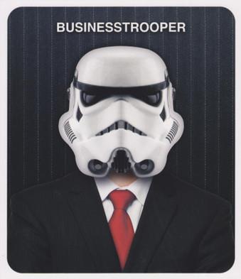 Star Wars - Businesstrooper Greeting Card