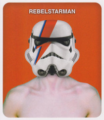 Star Wars - Rebel Starman Greeting Card