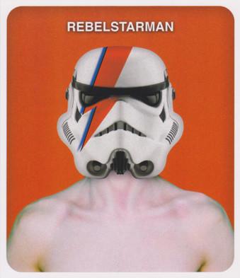 Star Wars - Rebel Starman Greeting Card