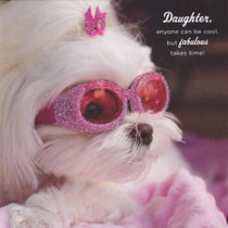 Daughter Birthday Card - Dog Birthday Card - Camden Graphics