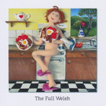The Full Welsh Greeting Card