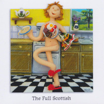 The Full Scottish Greeting Card
