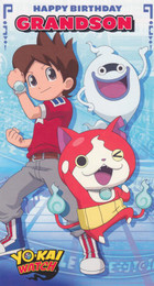 Yo-Kai Watch - Grandson's Birthday Card