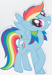 My Little Pony - Birthday Card - Rainbow Dash