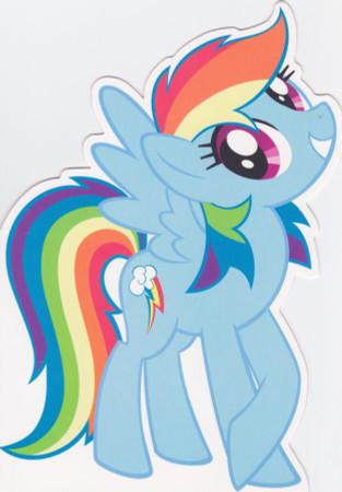 My Little Pony - Birthday Card - Rainbow Dash