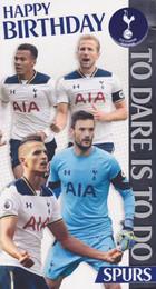 Tottenham Hotspur Players Birthday Card
