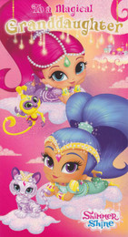 Shimmer & Shine - Granddaughter's Birthday Card
