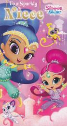 Shimmer & Shine - Niece's Birthday Card