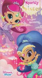 Shimmer & Shine - Sister's Birthday Card