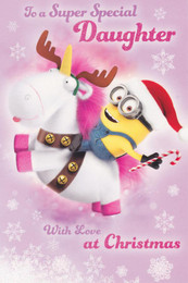 Minion Made - Daughter's Christmas Card