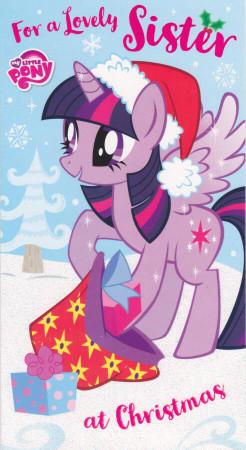 My Little Pony - Sister's Christmas Card