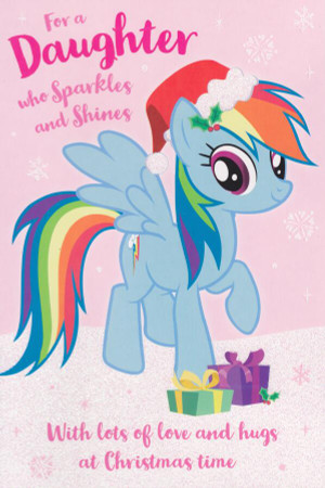 My Little Pony - Daughter's Christmas Card