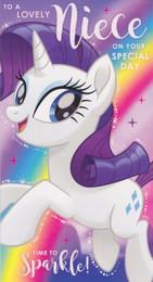 My Little Pony - Niece's Birthday Card