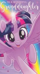 My Little Pony - Granddaughter Birthday Card