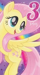My Little Pony - 3rd Birthday Card