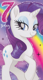 My Little Pony - 7th Birthday Card