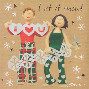 I love You Christmas Card