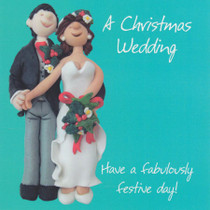 Christmas Wedding Card